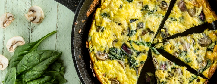 Low carb high fat omelet formafast