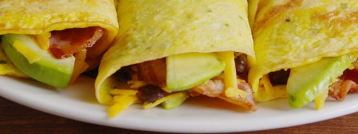 Breakfast Burrito's (eiwraps)
