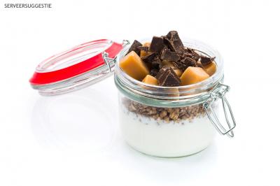 Muesli chocolade-karamel